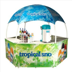 Tropical Sno Gazebo