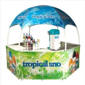 Tropical Sno Gazebo